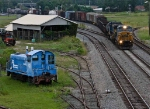 CSX and ex-Conrail switcher